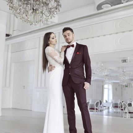 Garnitury ślubne Salon Mody Męskiej Okey